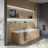 Bad met achterwand Oberon 2.0