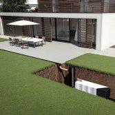 Infiltratiesysteem regenwater tuin | ACO