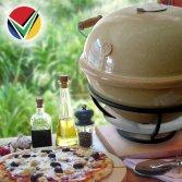 African Flame keramische pizza oven