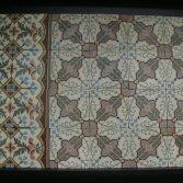 Antieke vloertegels C144