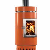 Moderne houtkachel van keramiek | Art of Fire