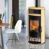 Moderne houtkachel met klassieke look | Thermia
