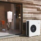 Je huis verwarmen met hybride warmtepomp