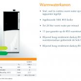 ATAG warmwaterkanon CV-ketel Q-CC