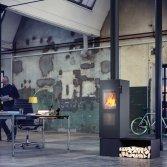 Attika Bionic Fire Studio houtkachel