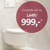Baden+ compleet toilet