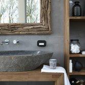 Baden+ natuurlijke badkamer
