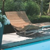 Balance Exclusive Metal Lounger Teak