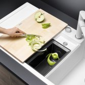 Blanco spoelbak COLLECTIS 6 S met organisch afvalbakje