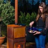 Tuinhaard pellets grillplaat | Bluesolid