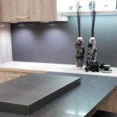 Gekleurde afdekkap kookplaat | Bokmerk