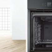 Bosch accent line Carbon Black inbouwapparatuur