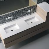 Solid surface wastafelbladen | Burgmans Sanitair