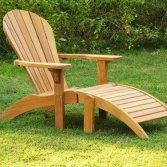 Lounge stoel van teakhout   Celeste Tuinmeubelen