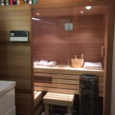 Finse sauna met infrarood
