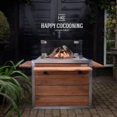 Cocoon Table Teak RVS Lounge&Dining | Happy Cocooning