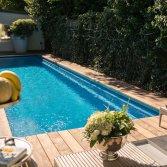 Zwembad voor echte zwemmers