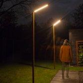 Cor-ten A stalen lantaarnpalen | Zeno