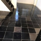 Hardstenen vloer herstellen   De Haan Natuursteen