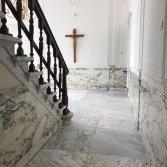Marmeren vloer reinigen