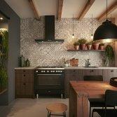 De moderne klassieke keuken