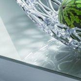 Dekker werkblad gehard glas - Yin