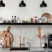 Designtegels moodboek keuken tegels