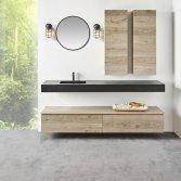 Badkamermeubels met strakke lijnen