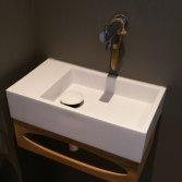 Djati teakhouten toiletmeubel