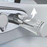 Geberit Domotica toilet met douchewc en afstandsbediening