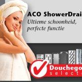 ACO ShowerDrain Douchegoot selector