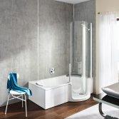 Douchen en baden in één: Twinline 1