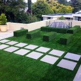 Kunstgras voor het dakterras