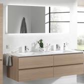 Eigentijdse badkamer | X2O badkamers