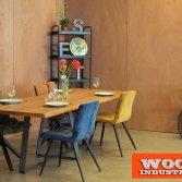 Eiken boomstamtafel - Hazelnoot | Woodindustries