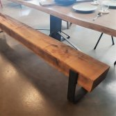 Eiken gebinte bank | Woodindustries