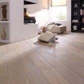 Eiken houten vloer white wash - Bax houthandel