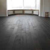 Eiken houten vloeren gerookt-Bax Houthandel