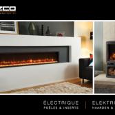 Elektrische haarden & kachels | Gazco brochure