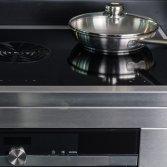 Inductie fornuis met interne afzuiging | Elementi di Cucina