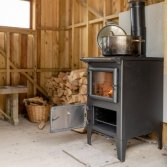 Gietijzer fornuis voor veranda | Esse