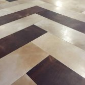 Leren vloeren en vloerkleden | Etagon