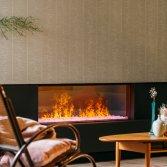 Elektrische haard met uniek vuurbeeld | Faber