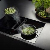 Actie! Falmec kookplaat met Le Creuset