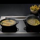 Kookplaat met geintegreerde afzuiging