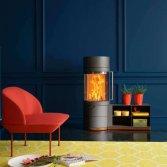 Houtkachel als wandmeubel | Fero