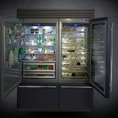 Design koelkast in kleur   Fhiaba