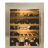 Onderbouw wijnklimaatkast RVS vingerprintvrij