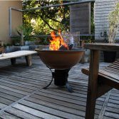 African Flame Fire Pit