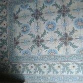 FLOORZ-Antieke tegelvloer met distelmotief